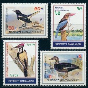 1983 Bangladesh 186-189 Birds of Bangladesh 15,00 €