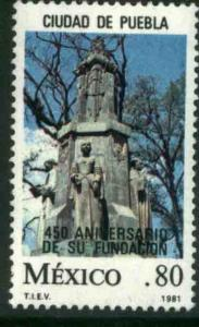 MEXICO 1230 450th Anniversary of the Founding of Puebla MINT, NH. VF.