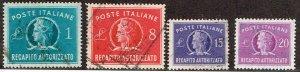 Italy # EY6 - EY9  Used