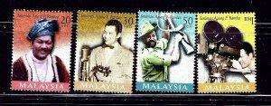 Malaysia 702-05 MNH 1999 Movie Making    (ap4288)