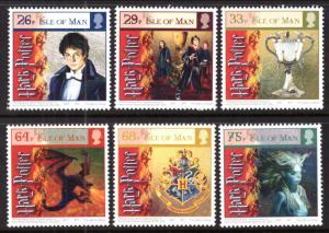Isle of Man 1121-1128 Harry Potter MNH VF