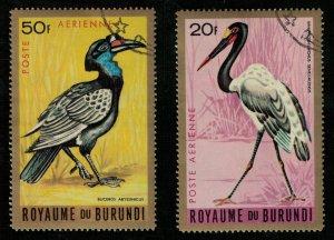 Birds, Burundi, (2752-T)