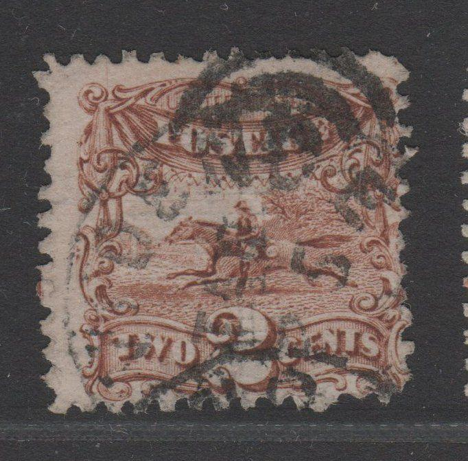 USA USED STAMPS scott 113 $85 1869 PICTORIAL 56 1216