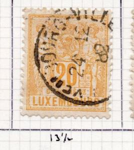 Luxembourg 1882 Early Issue Fine Used 20c. 245939