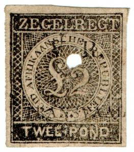 (I.B) Transvaal Revenue : Duty Stamp £2