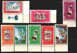 Paraguay. 1966. 1503-10. Space. MNH.