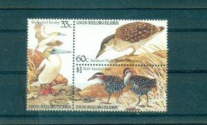 Cocos Is.  - 134a. 1985 Birds. MNH Block. $9.00.