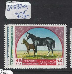 JORDAN  (PP1304B)  HORSES  SG 837-9  MOG