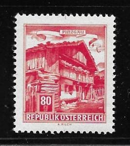 Austria 692 840g Building single Color Proof MNH (BB)