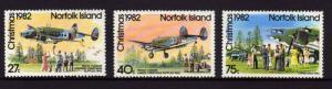 1982 Norfolk Island Scott 299-301 Christmas MH