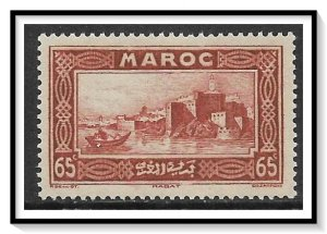 French Morocco #136 Kasbah Of The Rabat MNH