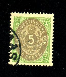 Danish W Indies #8 Used VF Cat$20