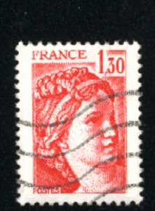 France #1625   used VF 1979-81  PD