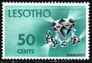 Lesotho. 1971. 102 from the series. Diamond, geology. MNH.