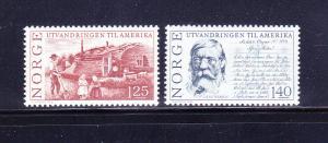 Norway 658-659 Set MNH Various (D)
