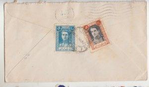TEHERAN, 1947 Airmail cover to Australia, 5r., 10r.