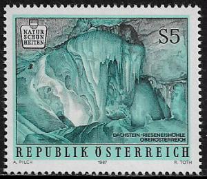 Austria #1351 MNH Stamp - Dachstein Ice Caves