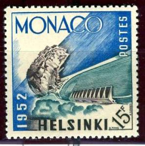 Monaco; 1953; Sc. # 300; */MH Single Stamp