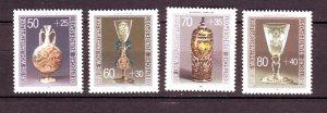 J24592 JLstamps 1986 germany set mnh #b647-50 glassware