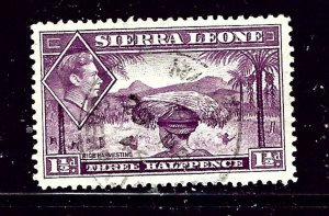 Sierra Leone 175A Used 1941 Rice Harvesting