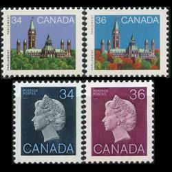 CANADA 1982 - Scott# 925-6B Queen etc. 34-36c NH