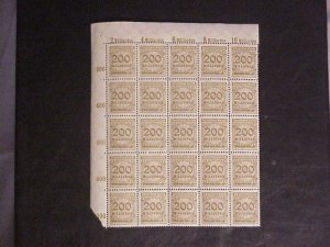 1,200 + MINT/NH GERMAN INFLATION/ REICH STAMPS 1900-1945 SINGLES TO BLOCKS OF 25