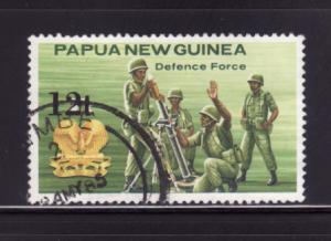 Papua New Guinea 615 Set U Defence Forces (A)