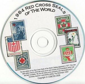 Mosbaugh's Catalog, Red Cross Charity Seals of The World, 1984 Ed. CD