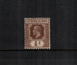 Leeward islands  61  MNH cat $ 5.00