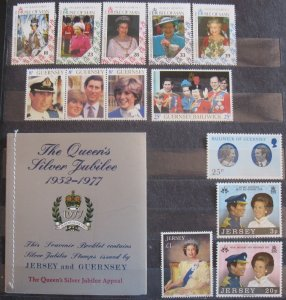 Channel Islands MNH Royal Selection w/Joint issue Booklet