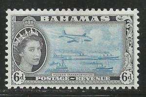 BAHAMAS 165  MINT HINGED, MODERN TRANSPORTATION