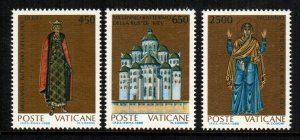 Vatican City  813  - 815  MNH $ 4.45