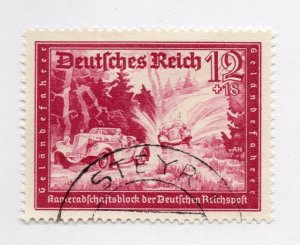 Germany 1943 Early Issue Fine Used 12pf. NW-100735