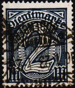 Germany.. 1920 2m S.G.O135a Fine Used