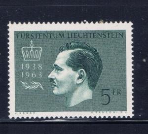 Liechtenstein 375 NH 1963 issue
