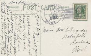 United States Montana Montford 1910 4a-bar  1900-1910  PC.