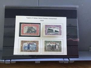 Italian Eritrea 1929 semi postal mint never hinged  stamps R30133