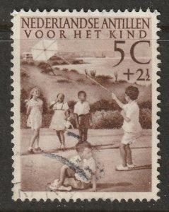 Netherlands Antilles 1951 Sc B11 used