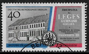 Germany: Berlin #9N582 Used Stamp - French Gymnasium - 40% Cat.