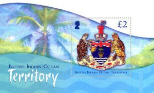 Stamps British Indian Ocean Territories (BIOT) - Coat of Arms - Mini Sheet