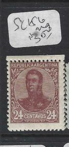 ARGENTINA (P1204B)  24 C  SG 156   MOG