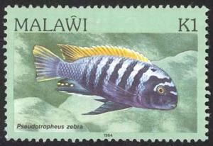 Malawi Sc# 439 MH 1984 Aquarium Species, Lake Malawi