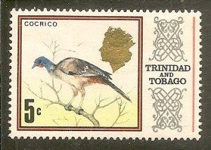 Trinidad & Tobago   Scott 146a   Bird    Used