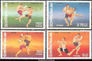 Thailand Scott 733-736 Mint never hinged.