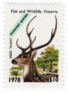 (I.B) Australia - Victoria Revenue : Hunting Tax $10 (1978)