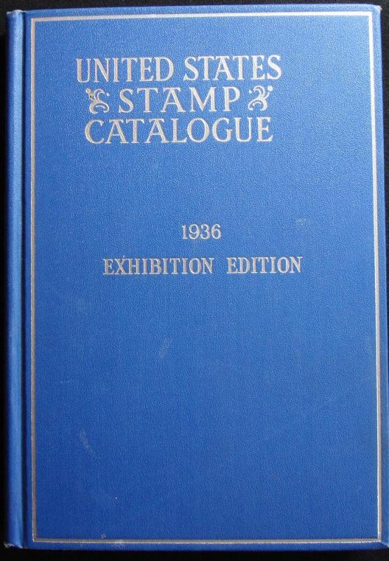1936 Used Scott US Stamp Catalogue Exhibition Edition
