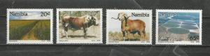 Namibia #670-673 Unused Hinged