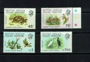 BIOT: 1971 Aldabra Nature Reserve  LHM set