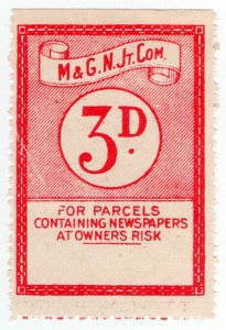 (I.B) Midland & Great Northern Railways Joint Committee : Newspapers 3d