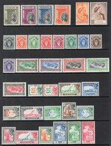 Zanzibar 1936-57 Group of Better Sets Mint
